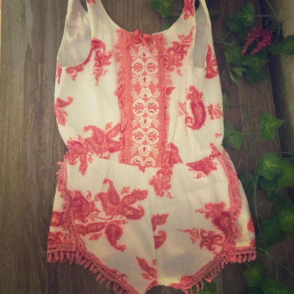 51d79b30c0a2 Jessica Simpson Other - Boho Baby Romper by Jessica Simpson